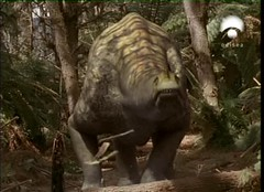 volcano scares titanosaur