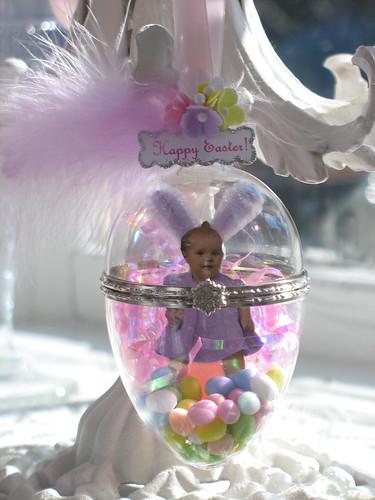 Easter candy egg art