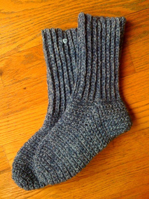 Ravelry: Crocheted Socks pattern by Sue Norrad