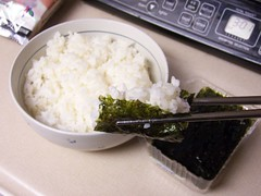 rice and nori
