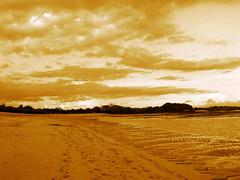 Bali, Indonesia (Hank Huang ) Tags: travel sunset sky bali sun beach nature clouds indonesia landscape island scenery shore