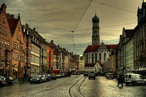 Augsburg Germany  city pictures gallery : Augsburg, Old Town Germany by mselam
