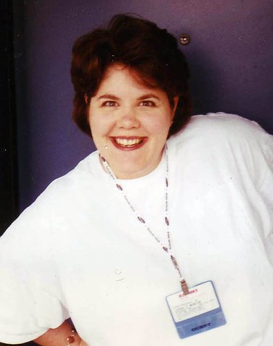 Laura Moncur at Comdex 1996 from Flickr