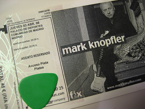 Mark Knopfler en Madrid