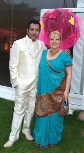 Actor Nitin Ganatra & Campaign Director Angie Davidson