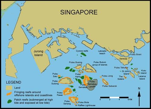 Southern Island Map