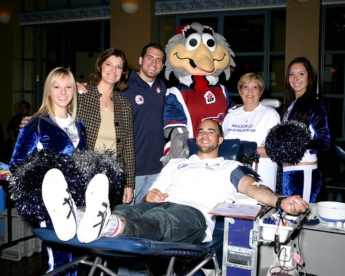 Molson and Montreal Alouettes Annual Blood Drive