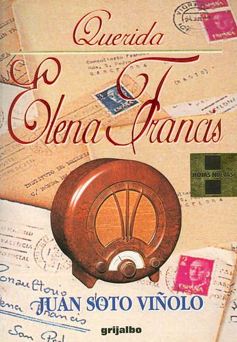 Portada del libro Querida Elena Francis escrito por Juan Soto Viñolo
