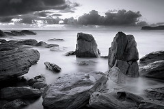 Barrenjoey bw (Tim Donnelly (TimboDon)) Tags: ocean sea water rocks australia nsw barrenjoey supershot platinumphoto theperfectphotographer thebestwaterscapes