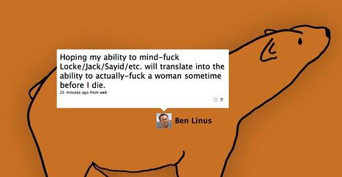 Thumb El twitter de Benjamin Linus: Twitter is *not* my constant.