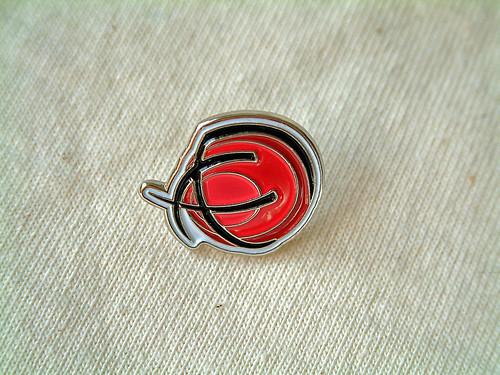 Ravelry Logo Pin
