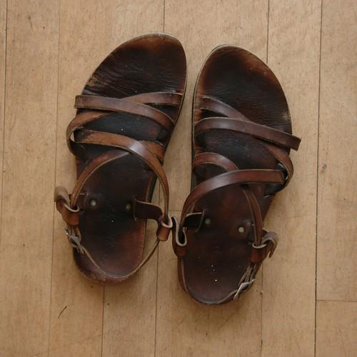 sandals leerisler