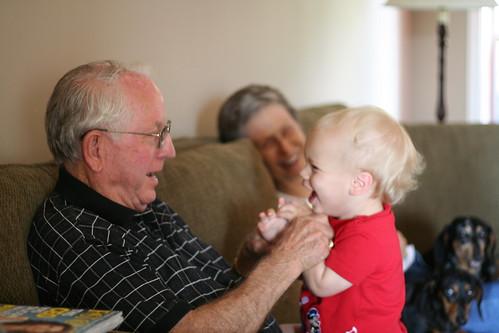 Patty-Cake with Grandpa Hermie