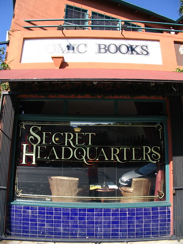Secret Headquarters