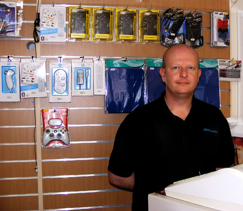 Chris at the PC Shop