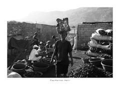 Cap Haitien, Haiti (Vincent Karcher) Tags: caphaitien haiti vincentkarcherphotography art beauty blackandwhite culture documentary human noiretblanc people portrait project reportage rue street travel voyage world cap haitien market charcoal coal woman