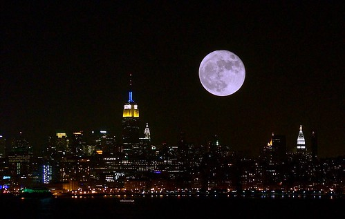 Full moon in NYC