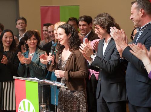 Femke presenteert kandidaten