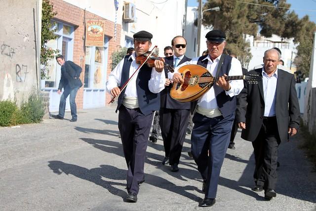 Santorinian wedding