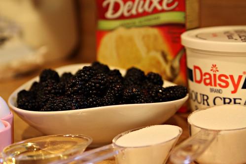 blackberry lemon cake ingredients
