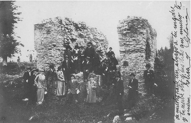 Palacio de Galiana a comienzos del siglo XX. Colección Luis Alba. Ayuntamiento de Toledo