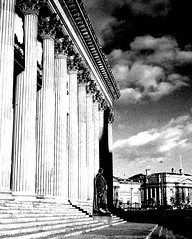 st georges hall - liverpool - england (~ paddypix ~) Tags: blackandwhite liverpool photoshop buildings angles picasa specialeffects fragments moodyblues bwdreams ukandireland urbanside