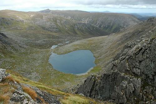 Dubh Loch below Beinn A' Bhuird