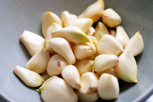 40-something cloves of garlic