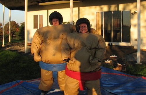 Amy and Peter - Sumo!
