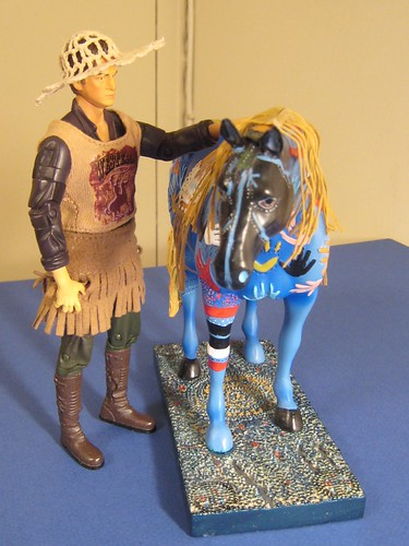 A Cowpoke and His Pony