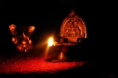 Happy Diwali! (***TR.iPod) Tags: dark tripod www ganesh diwali soe diya vilakku happydiwali noctrnal flickrsbest pillaiyar tripodphotos