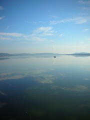 earth - quiet (valerioram) Tags: reflection lagoon tuscany toscana orbetello naturesfinest