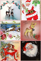Vintage Christmas cards by RCLTypepad