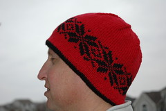Hubby Very Warm Hat, modeled