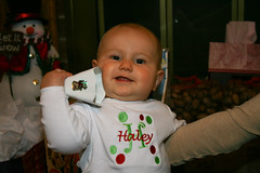 Haley's First Christmas - Cowbell