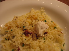 rice salad with chevre