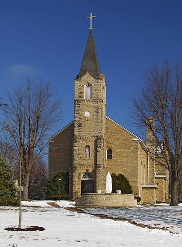 Rome of the West: Photos of Saint Joseph Church, in Zell, Missouri