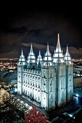 SLC Temple - Dragan (KM Photography..) Tags: building night religious temple utah saltlakecity mormon dragan lds photofaceoffwinner pfogold