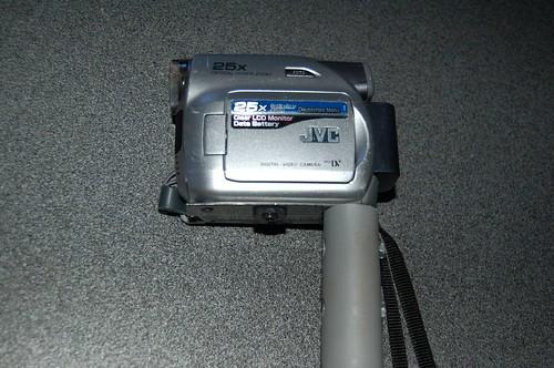 nieuwe bevestiging camera