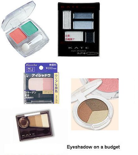 budget eyeshadow