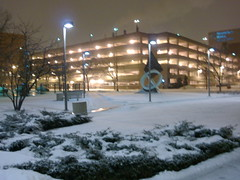 Still more night photography (SquidRNA) Tags: snow chicago uic