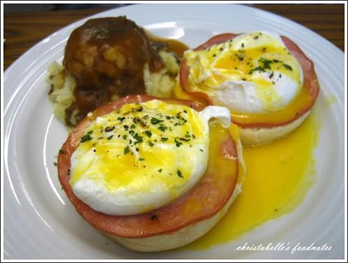 樂子班尼迪克蛋與薯泥 Benedict & Mashed Potato