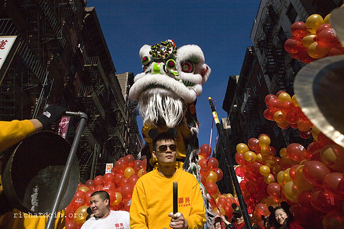 Chinese New Year, New York, 2008