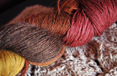 Mmmm, sock yarn!