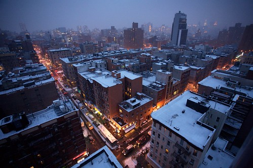 images of new york city snow