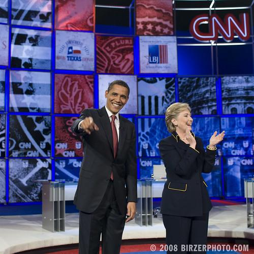 Hillary Clinton Barack Obama Debate Austin 21 Feb 08