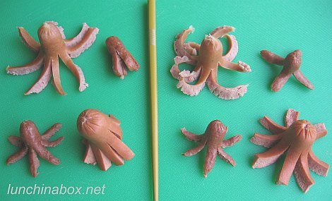 How to make an octodog (hot dog octopus)