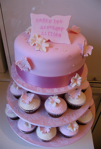 IMG_3729 · Latest Magazine Photo · First Birthday Cake & Cupcakes