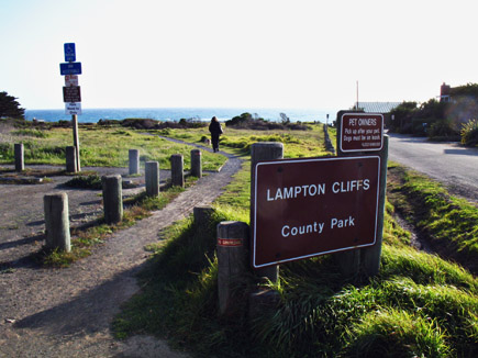 lampton cliffs county park, cambria