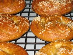 spelt pretzels